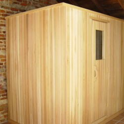 Portable Saunas - This unit was moved to a customer's new home shortly after being installed in Richmond, VA