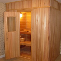 Portable Saunas - one of our modular units installed in Washington, D.C.