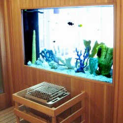 about page - fishtank home custom sauna