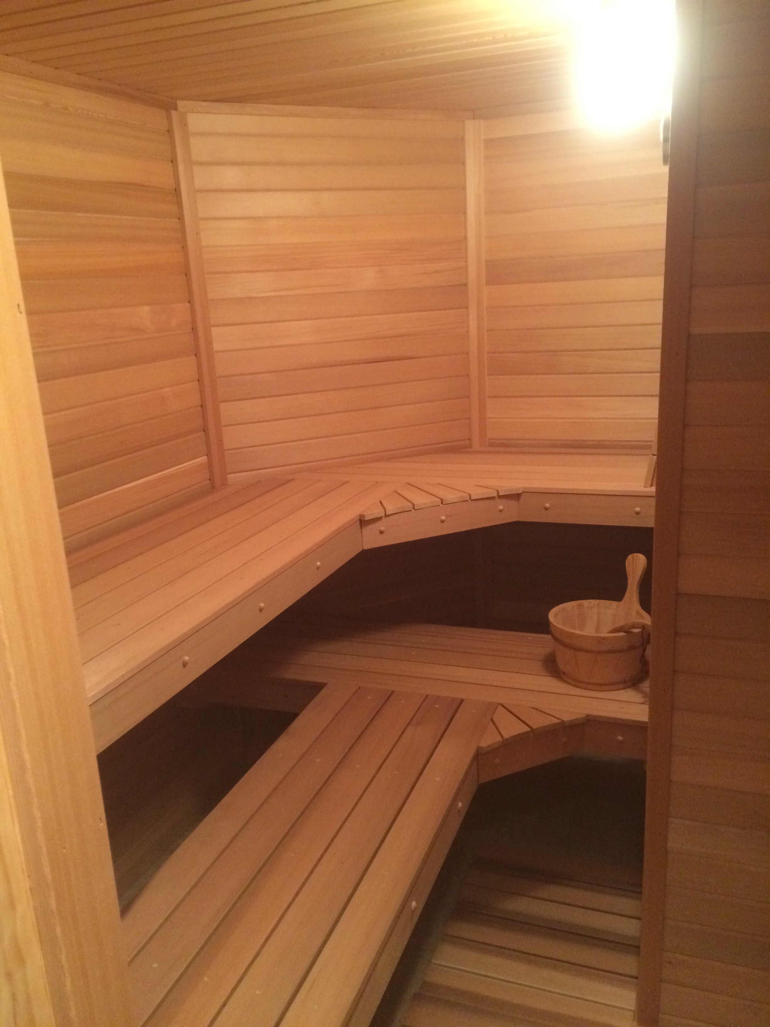 Home sauna kits installed or shipped peterson sauna for Home sauna plans