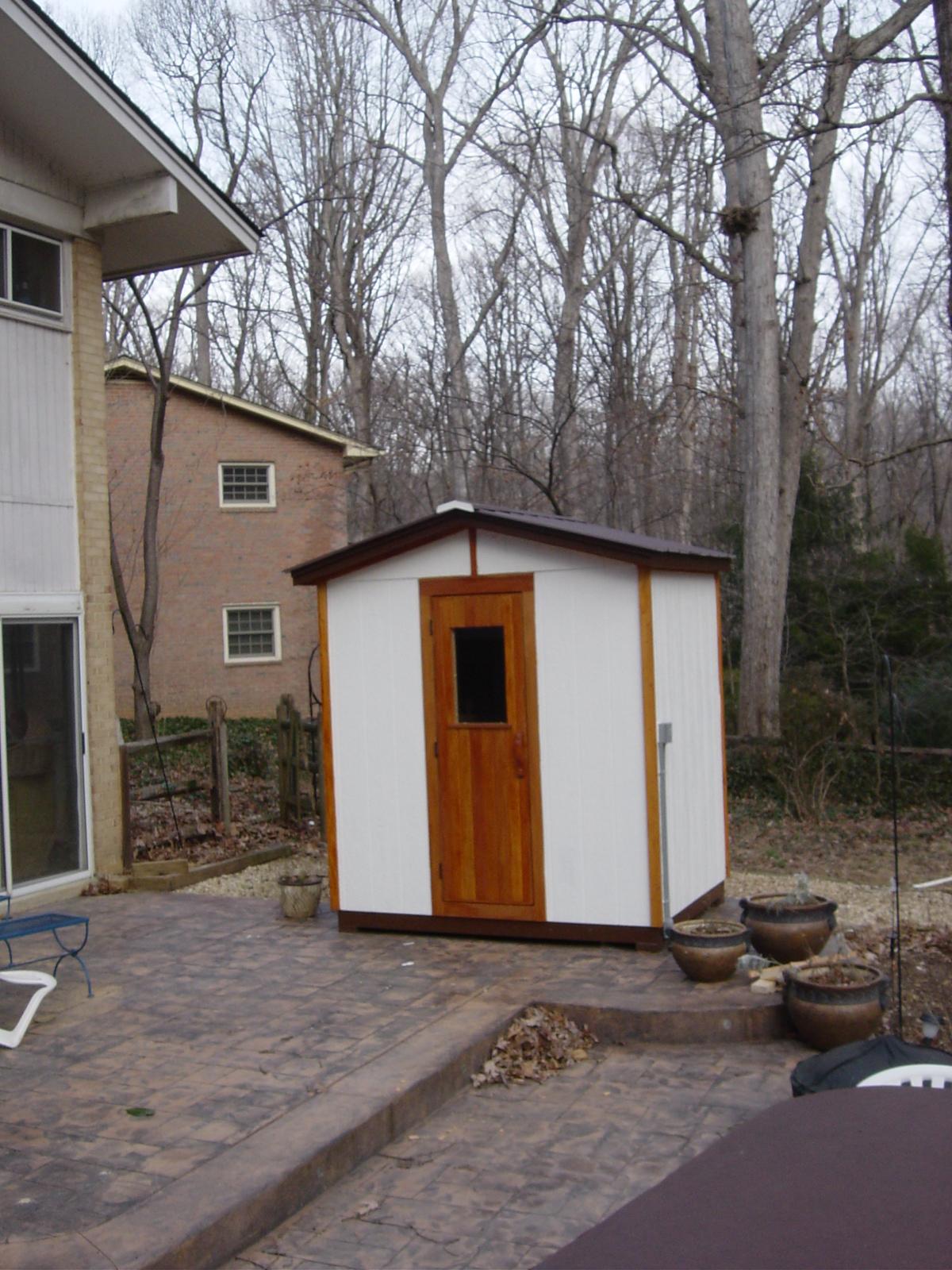 Peterson Sauna Custom Outdoor Saunas