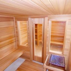 Home Sauna Kits - Winter Haven, Florida Job - interior view