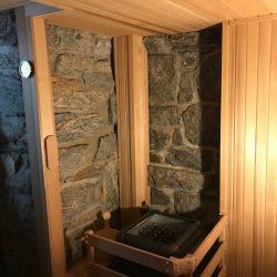 Bronx custom sauna details
