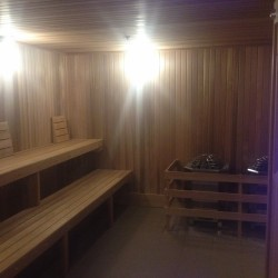 commercial sauna - New Jersey High-rise condo building