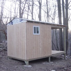 Outdoor sauna house in Latrobe, PA